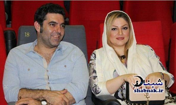 عکس زن مصطفی کیایی و همسرش