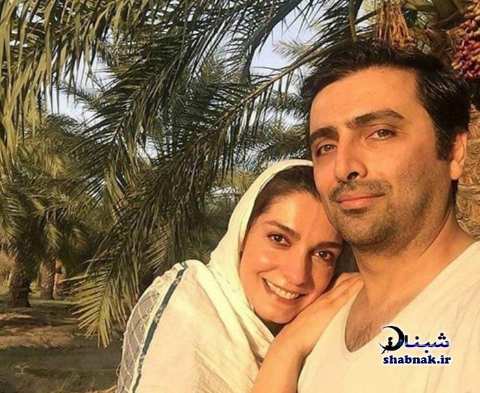 امید زندگانی و همسرش الیکا عبدالرزاقی