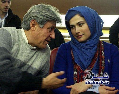 شهرام اسدی همسر لادن مستوفی