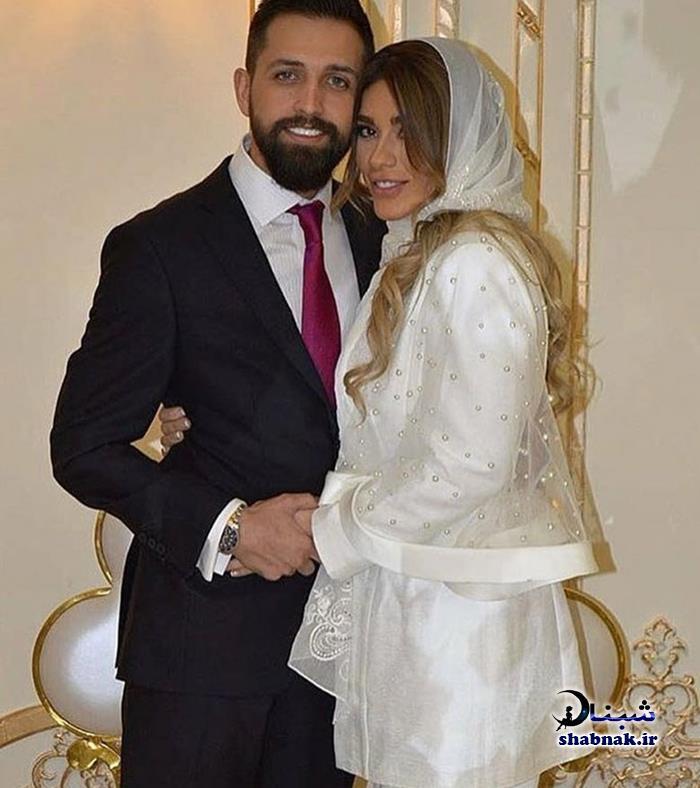 عکس های عروسی محسن افشانی و همسرش