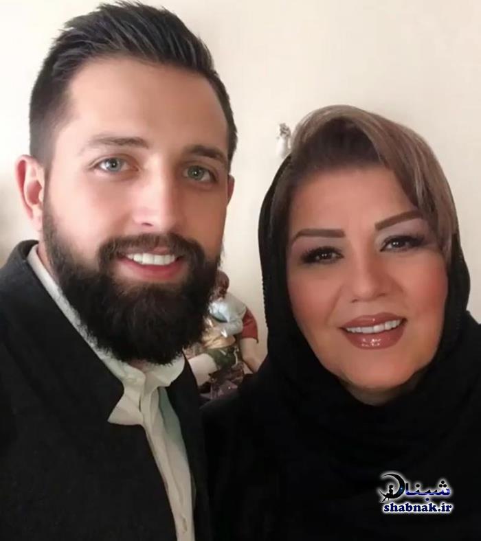 مادر همسر محسن افشانی