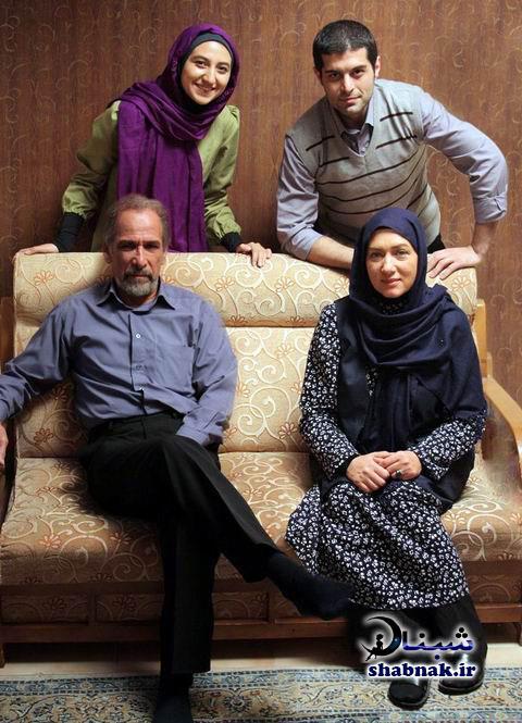 خانواده فریبا متخصص,محسن پوربهرامی همسر فریبا متخصص