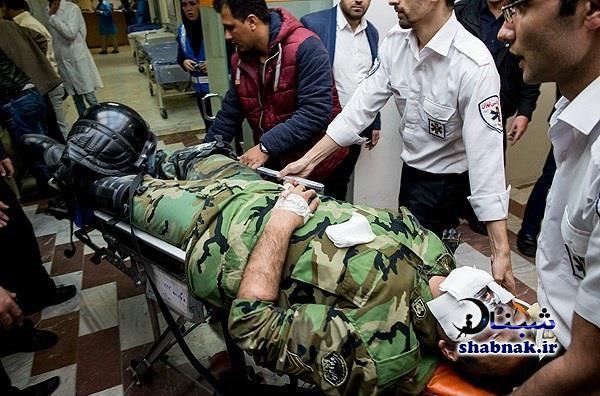 عکس های وحشتناک از تلفات چهارشنبه سوری