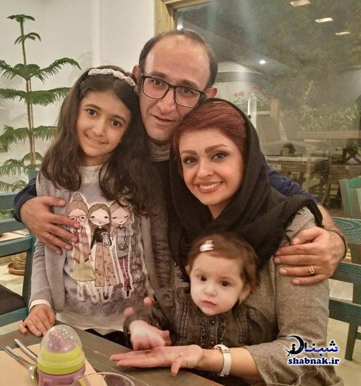 هدایت هاشمی و همسر دومش مهشید ناصری