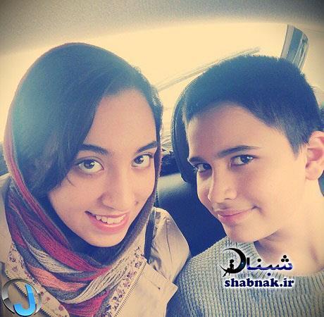 عکس های کیمیا علیزاده و برادرش