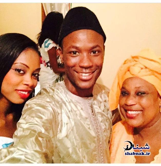 مامه بابا تیام و همسر و مادرش,عکس خانوادگی تیام