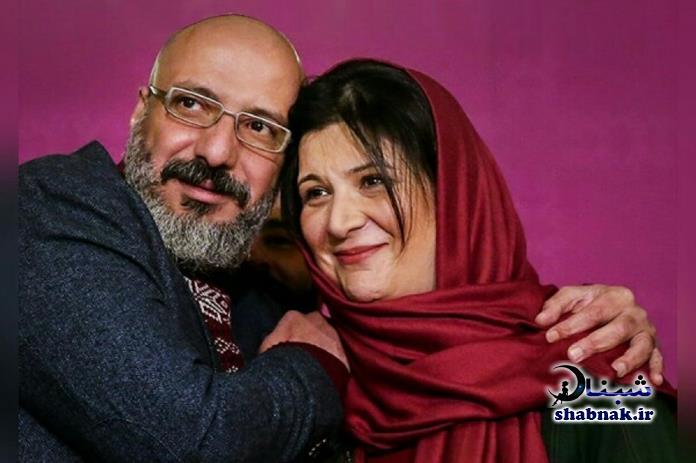 ریما رامین فر و همسرش امیر جعفری