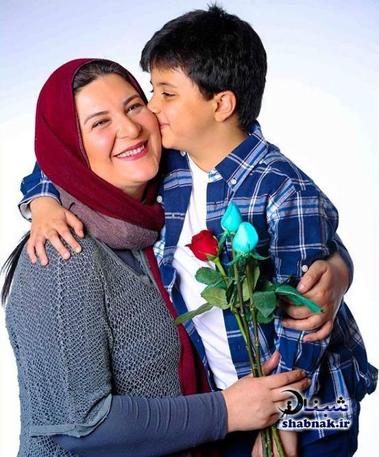 بیوگرافی ریما رامین فر و پسرش