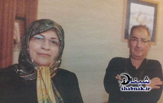 صادق زیبا کلام و همسرش