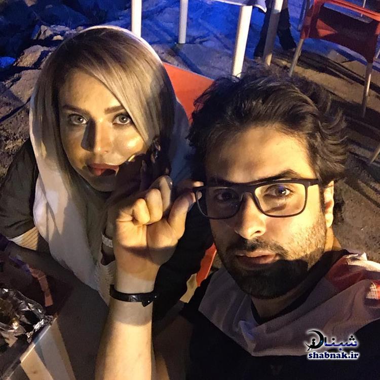 سولماز آقمقانی و همسرش علی خیامی