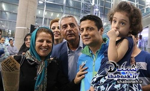 بیوگرافی علیرضا فغانی و همسرش