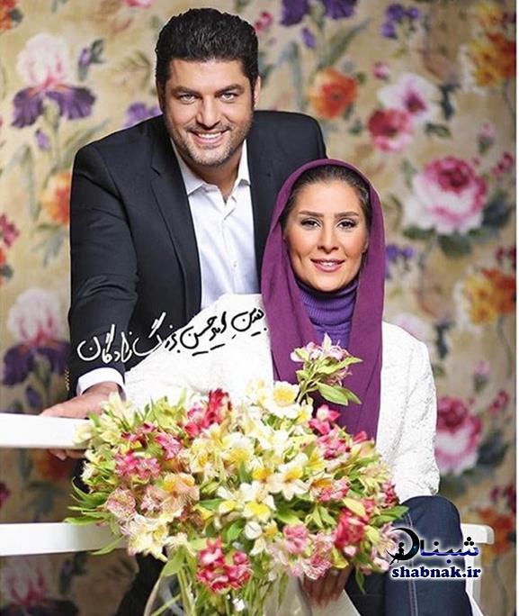 عسل امیرپور همسر سام درخشانی