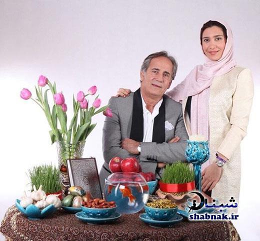 عکس های بازیگران کنار سفره هفت سین عید نوروز 97