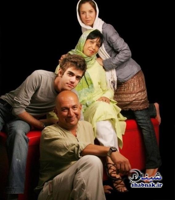 عکس خانواده فاطمه نقوی