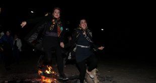 فیلم رقص مختلط در چهارشنبه سوری در تهران و کرج