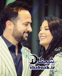 احمد مهرانفر و همسرش مونا فائز پور