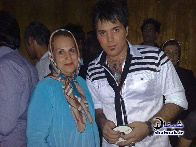 عکس علی عبدالمالکی و مادرش