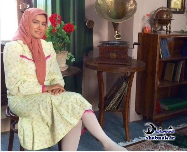 آزاده اسماعیل خانی نقش آفاق دختر دکتر وزیری در معمای شاه