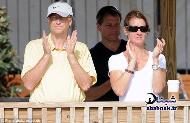 bill gates shabnak.ir 2 - بیوگرافی بیل گیتس و همسرش +تصاویر خانواده بیل گیتس