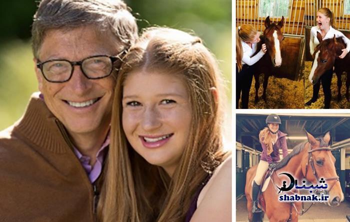 بیوگرافی بیل گیتس و همسرش +تصاویر خانواده بیل گیتس