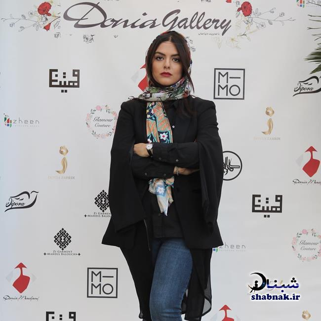 donya madani 2 - بیوگرافی دنیا مدنی و همسرش علیرضا کمالی +تصاویر