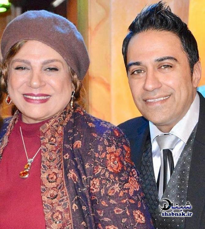 گوهر خیراندیش و پسرش امید اسماعیل خانی