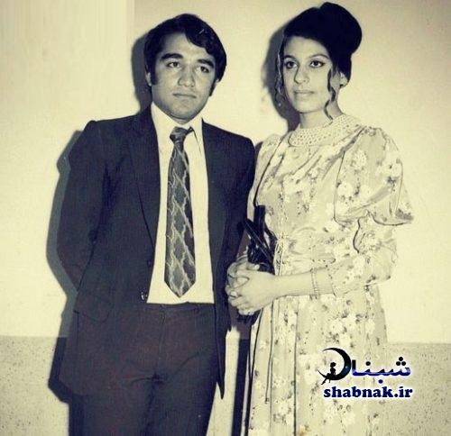 جوانی گوهر خیراندیش و همسرش جمشید اسماعیل خانی