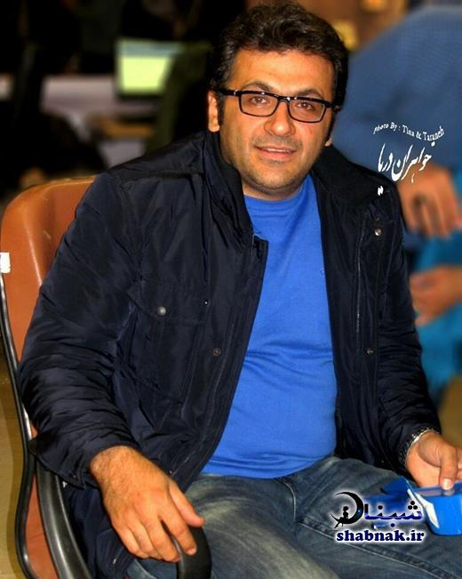 hahram abdoli 5 - بیوگرافی شهرام عبدلی و همسرش +تصاویر خانوادگی