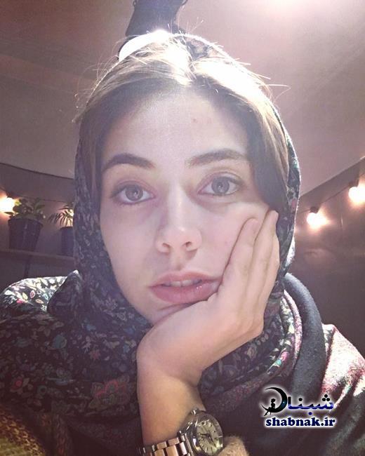 نیلوفر رجایی فر دختر داعشی در سریال پایتخت
