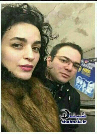 بیوگرافی نوشین حسین خانی و همسرش امید آهنگر