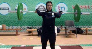 بیوگرافی پارمیدا محمودیان دختر وزنه بردار ایران