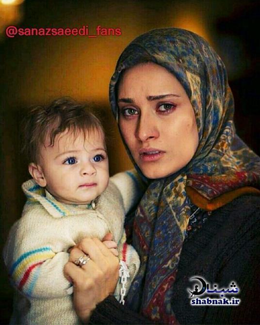 sanaz saeedi 3 - بیوگرافی ساناز سعیدی و همسرش +تصاویر ساناز سعیدی