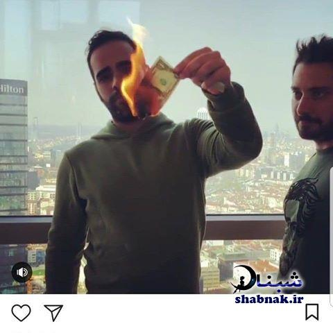 بیوگرافی ساشا سبحانی پسر سفیر سابق ایران +فیلم لو رفته