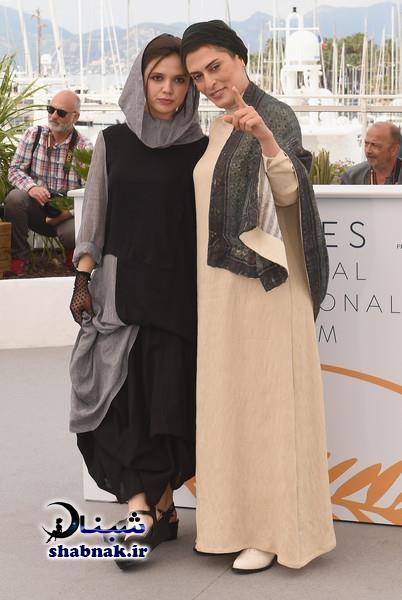تصاویر مدل لباس بهناز جعفری در جشنواره فیلم کن 2018