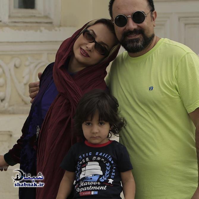 Borzou Arjmand 2 - بیوگرافی برزو ارجمند و همسرش +عکس های لو رفته