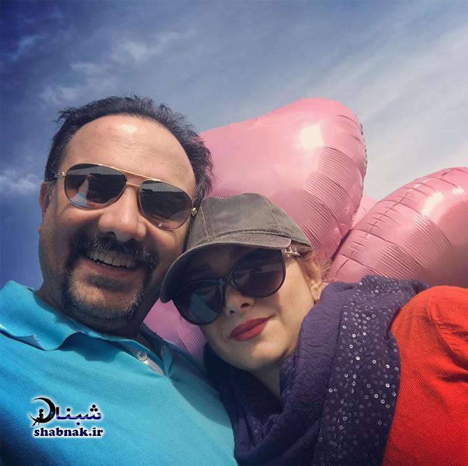 Borzou Arjmand 3 - بیوگرافی برزو ارجمند و همسرش +عکس های لو رفته