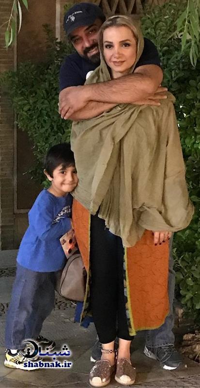 Borzou Arjmand 4 - بیوگرافی برزو ارجمند و همسرش +عکس های لو رفته