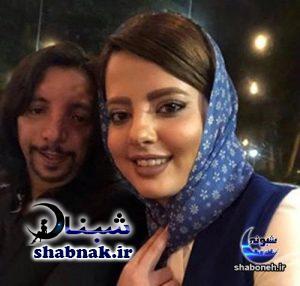 عکس فرهاد ایرانی و همسرش