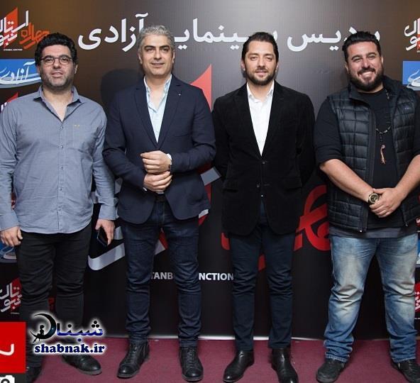 بازیگران چهارراه استانبول