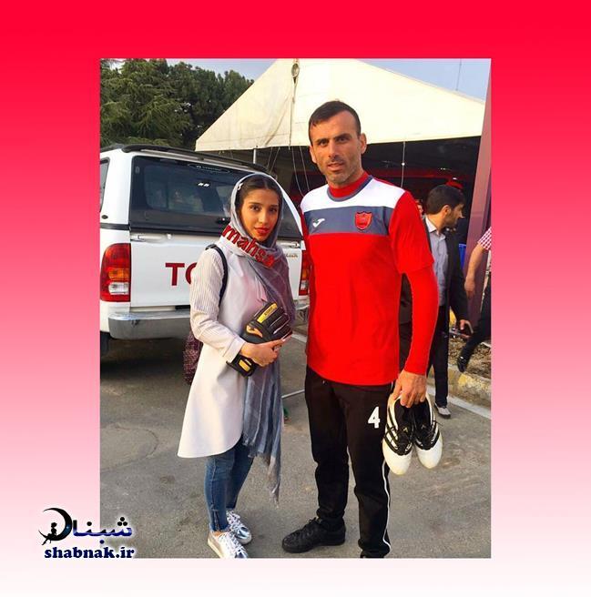 بیوگرافی سید جلال حسینی و همسرش +تصاویر دخترانش