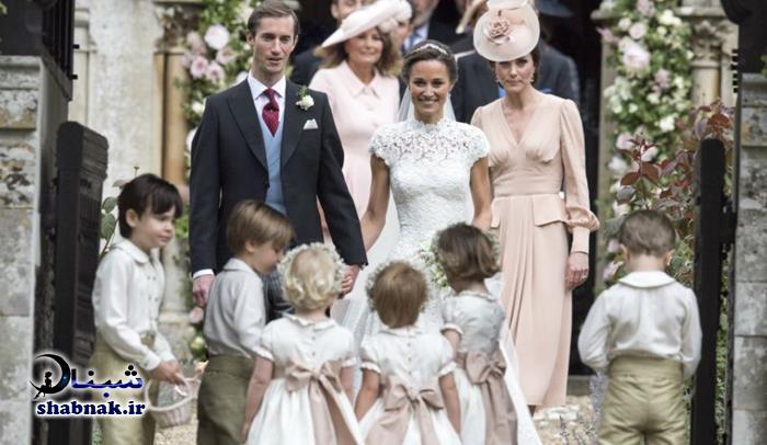 عکس های عروسی پرنس هری و مگان مارکل