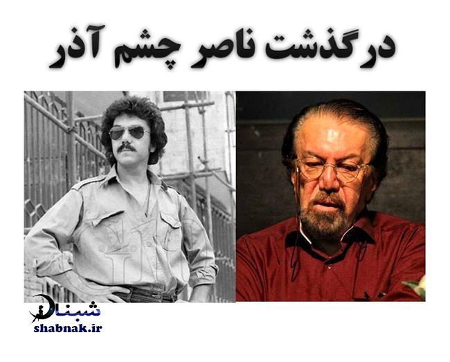 بیوگرافی ناصر چشم آذر و همسرش + درگذشت ناصر چشم آذر