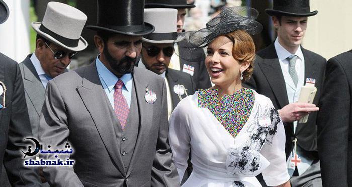 حاکم دوبی و همسرش