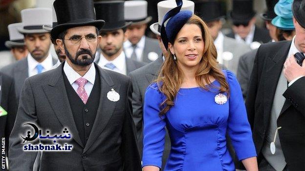 بیوگرافی حاکم دبی و همسرش