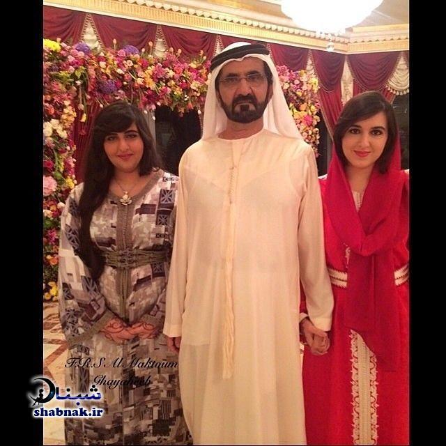 بیوگرافی حاکم دبی و همسرش +تصاویر دختر حاکم دوبی