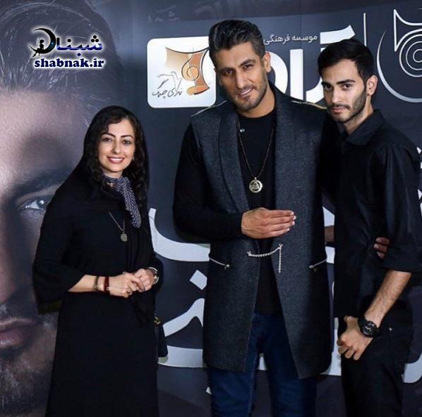 بیوگرافی شهاب مظفری و همسرش +تصاویر و همه آهنگها