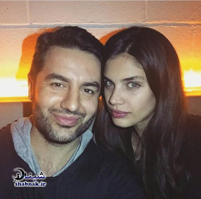 بیوگرافی علی کاووسی و همسرش ایرینا شایک