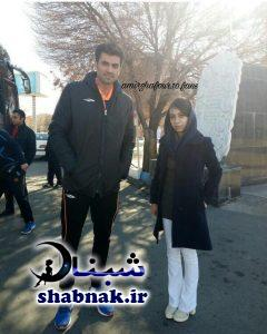 amir ghafoor shabnak 4 240x300 - بیوگرافی امیر غفور والیبالیست و همسرش + عکس های شخصی