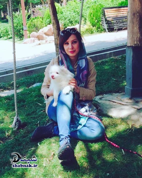 بیوگرافی گل ناز عباسی و همسرش + عکس های گلناز عباسی