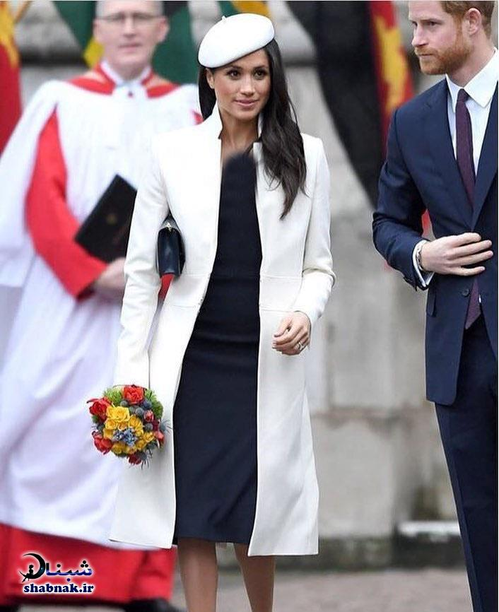 عکس های عروسی سلطنتی انگلستان مگان مارکل و پرنس هری